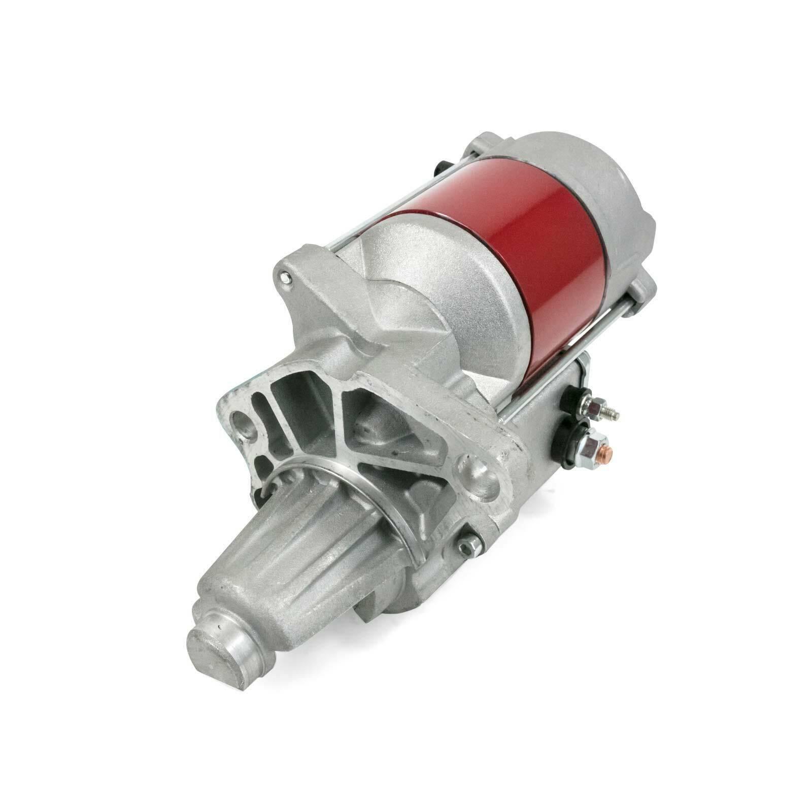 A-Team Performance 1.9 HP Mini Starter for Chrysler BB, Inline 6 SB V8, Red