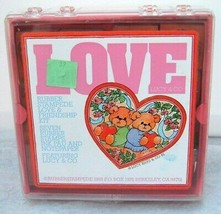 Rubber Stampede Love And Friendship Kit 1988 featuring Lucy & Co Vintage... - $11.85