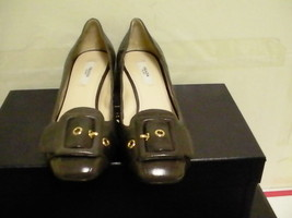 Prada womens shoes heels calzature donna antic soft size 35.5 euro - $267.25