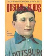 the score board book of baseball cards 1987 michael gershman rare - $4.99