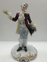 Capodimonte San Marco Figurine 18th Century Man Crown N Italy - $247.45
