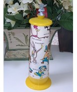 Vintage Looney Tunes Drinking Straw Dispenser  by Lego of Ja - $14.99