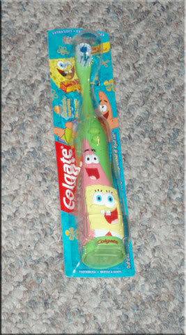 Sponge bob tooyh brush gree