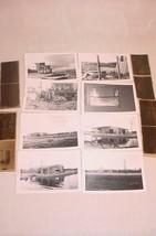 VTG PHOTOGRAPHS SNAPSHOTS W/ NEGATIVES DESTROYED HOUSE HURRICANE DONNA 1960 - $25.73