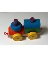 Stacking Wood Block Train Engine Toy - $8.00