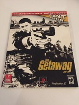 THE GETAWAY PRIMA Official Strategy Guide For PlayStation 2, Poster Not ... - $8.84