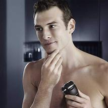 RUNWE MuteShave Electric Razor, Men's Cordless Rechargeable Rotary Shaver with P image 7