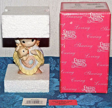 Precious Moments Figurine Love Is A Warm Heart On A Cold Day 4024084 NEW... - $28.04