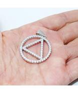 "925 Sterling Silver Eminem Hip Hop Men Necklace Pendant Free 24"" Chain Gift - $29.99"