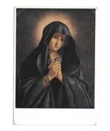 Artist Painting Sassoferrato The Virgin Madonna Wolfrum Vienna 4X6 Art P... - $5.80