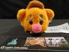 "Disney Store Authentic Muppets Fozzie bear Tsum Tsum 3.5"" plush stuff mi... - $18.98"
