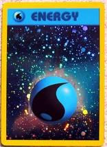 Pokemon cards water energy holo promo - $1.99