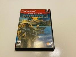 Sony Play Station 2 / PS2 - Socom Ii - Us Navy Seals - $10.00