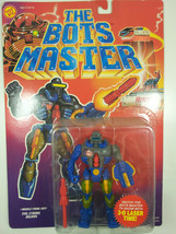 "The Bots Master  HUMABOT  5"" Vintage Action Figure by Toy Biz 1993  - $28.75"