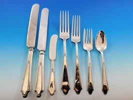 Chateau by Lunt Sterling Silver Flatware Set for 12 Service 89 Piece Dinner Size - $5,350.00