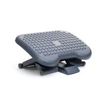 Best Foot Rest Under Desk Adjustable Height Office Ergonomic Portable Co... - £18.93 GBP