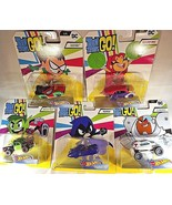 2018 Hot Wheels TEEN TITANS GO! Character Cars Complete Set of 5 See Det... - €46,00 EUR