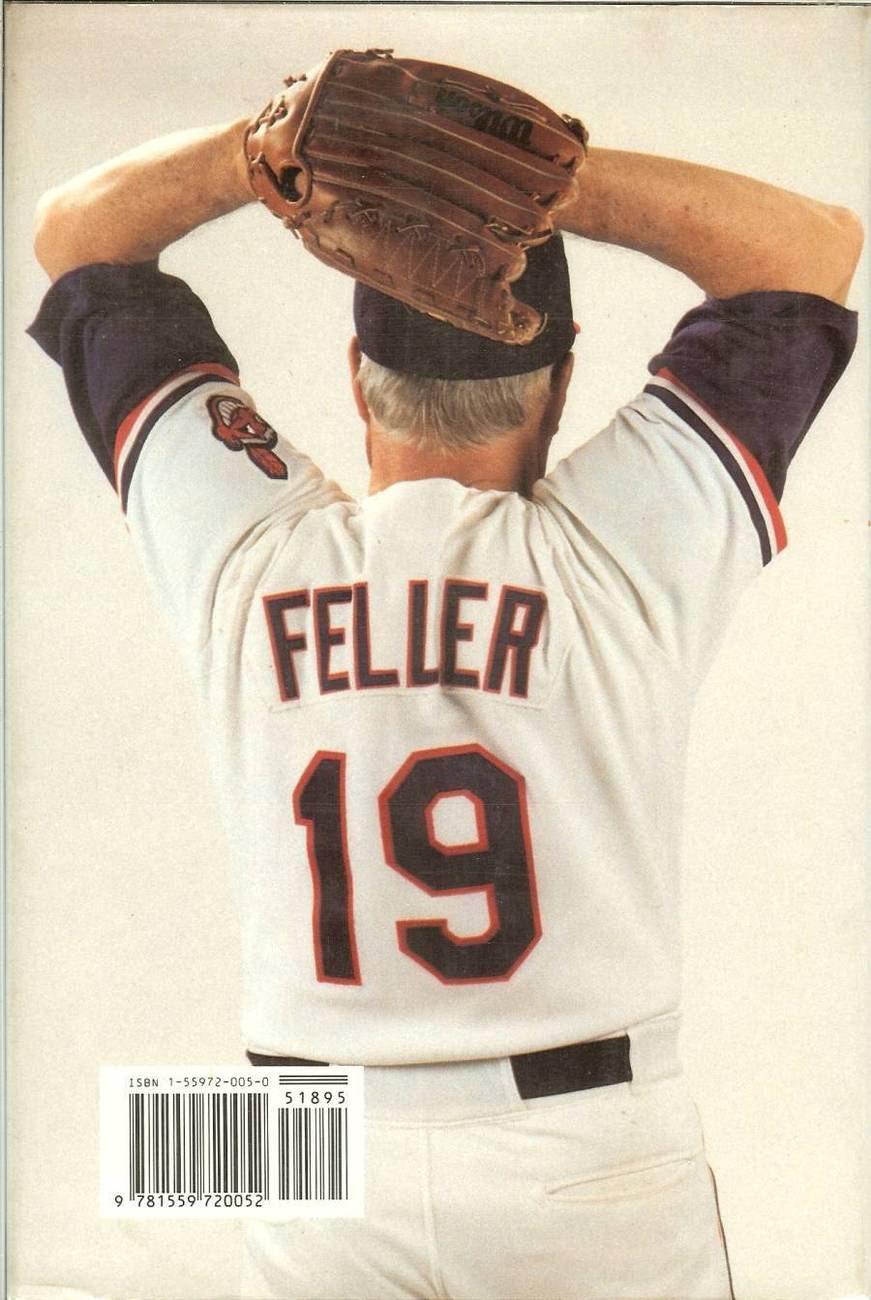 now pitching bob feller baseball book bill gilbert first edition 1990