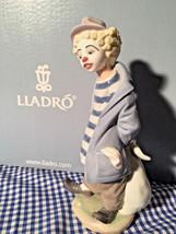 Lladro 7602 Little Traveller 01007602 New Retired 1986 - $493.02