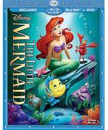 The Little Mermaid Blu Ray/DVD - $13.95