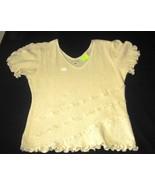 White shortsleeve crew shirt, ecological pyma cotton   - $42.20