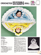 CROCHETED REVERSIBLE DOLL INSTRUCTION SHEET - $0.00