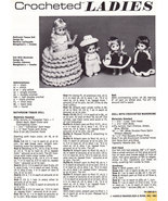 CROCHETED LADIES DOLL INSTRUCTION SHEET - $0.00