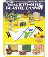 TABLE SETTINGS FOR PLASTIC CANVAS LA 231 - $0.00