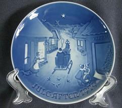 Bing & Grondahl Annual 1979 White Christmas Collector Plate Denmark 14-B... - $17.95