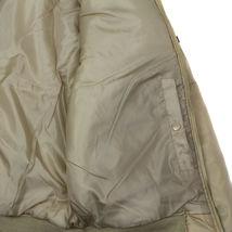 Men's Premium Multi Pocket Water Resistant Padded Zip Up Flight Bomber Jacket image 5