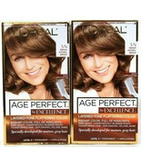 (2) L'Oreal Age Perfect By Excellence 5 N Medium Natural Brown Permanent... - $22.76