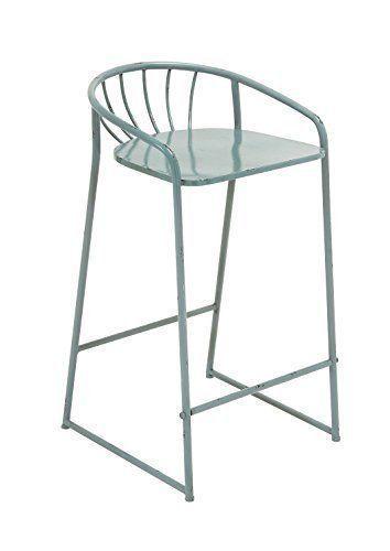 Fantastic Benzara 2 Most Comfortable Metal Bar Stools And 50 Similar Items Camellatalisay Diy Chair Ideas Camellatalisaycom