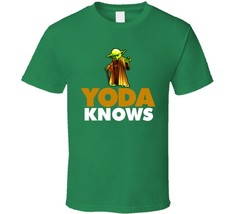 Yoda Knows Star Wars Bo Jackson Knows Style Movie T Shirt - $18.49+