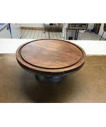 *missing dome Wood & Metal Covered Cake Stand - Hearth & Hand™ with Magn... - $28.87