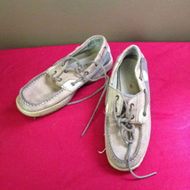 Youth Sperry Blue Fish Sz 3.5 - $4.64