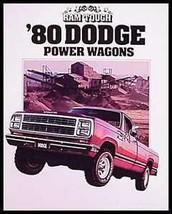 1980 Dodge Power Wagon Truck Original Dealer Brochure - $7.92