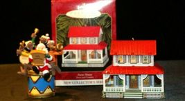 Hallmark Keepsake Ornaments Kris and the Kringles & Farm House AA-191792B  Colle image 6