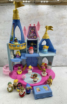 Fisher-Price Little People Disney Princess Musical Dancing Castle Tested Works!! - $98.99