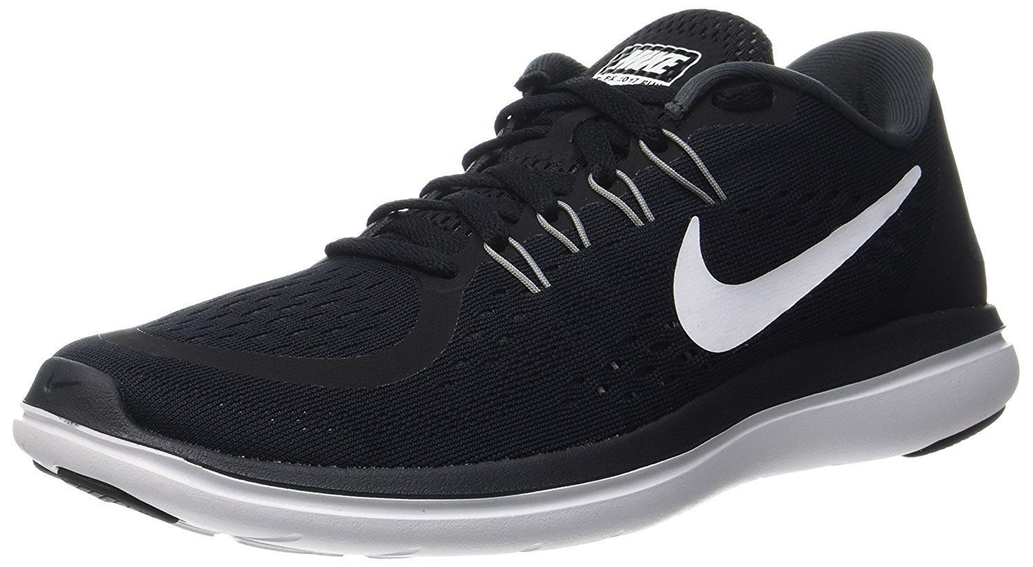 huge discount 67afb 51b8b ... Nike Flex 2017 RN Sz 10.5 Black White-Anthracite Men s Running Shoes  898457-