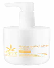 Hempz Tahitian Vanilla & Ginger Scrub 16oz