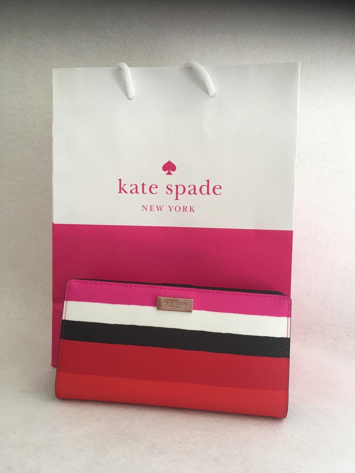0e6b2072d0b1 Kate Spade Laurel Way Bonita stripe Wallet and 50 similar items