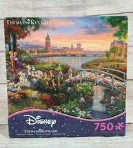 Disney Thomas Kinkade 101 Dalmatians Jigsaw Puzzle 750 Pieces Ceaco 2017... - $24.24