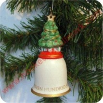 Hallmark 1992 O Christmas Tree Bell Ornamen Item Id: QX5411 - $6.93