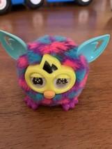 Furbling Furby Mini Boom Baby Hasbro Blue and Pink Polka Dots 2013 - $12.99