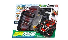 Bite Choicar Black Howling Racing Mini Car Vehicle Toy image 3