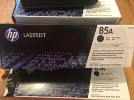 10 Virgin Empty HP 85A Laser Toner Cartridges CE285A Genuine HP Guaranteed - $47.50