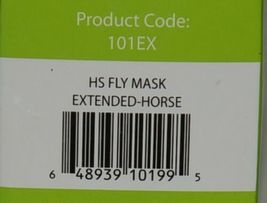 Horse Sense 101EX Fly Mask Eye Dart Protection Extended Nose Without Ears image 7