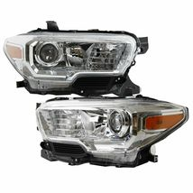 For 16-20 Toyota Tacoma SR/SR5 Model w/o DRL Pair Projector Chrome Headl... - $241.25