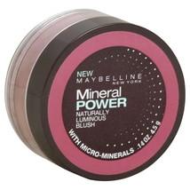 Maybelline Mineral Power Naturally Luminous Blush .14Oz/4.5G - Soft Mauve - New - $11.87