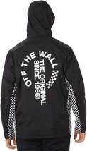 Vans OTW Distort Anorak Jacket MENS BLACK LARGE L NEW CHECKERBOARD OFF T... - $89.99